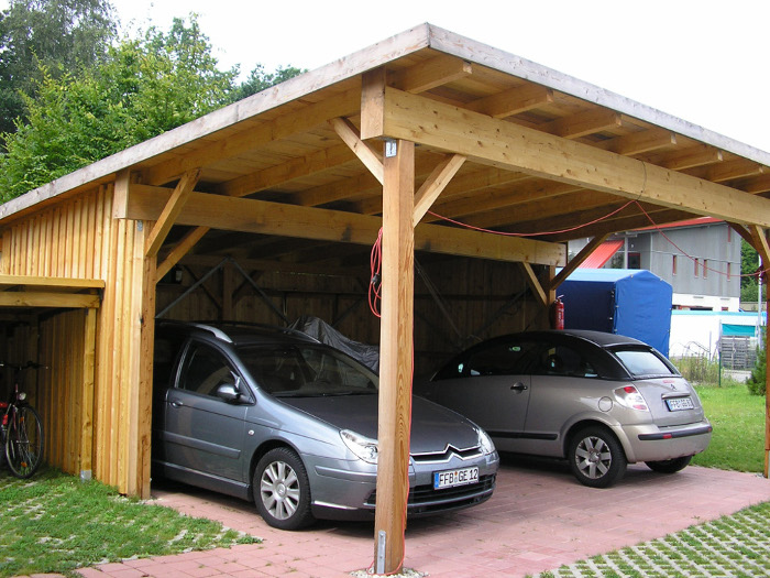 Individuell geplanter Carport